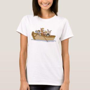 Peter Pan's Lost Boys in boat Disney T-Shirt