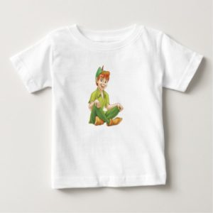 Peter Pan Sitting Down Disney Baby T-Shirt