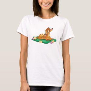 Bambi sitting on the grass T-Shirt