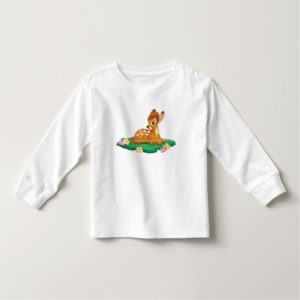 Bambi sitting on the grass toddler t-shirt