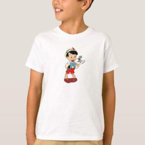 Pinocchio with Jiminy Cricket Disney T-Shirt