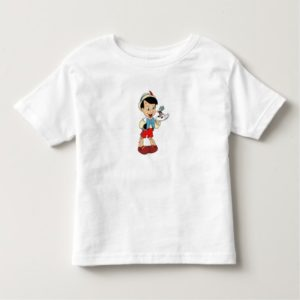 Pinocchio with Jiminy Cricket Disney Toddler T-shirt