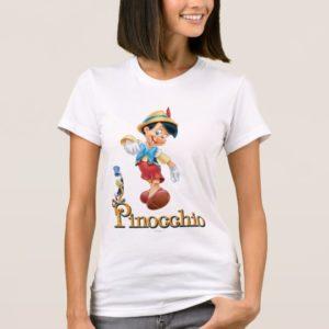 Pinocchio with Jiminy Cricket 2 T-Shirt