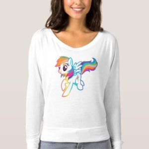 Crystal Nights Rainbow Dash T-shirt