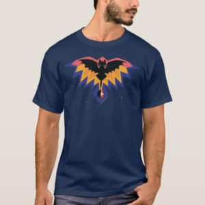 Toothless Colored Flight Graphic T-Shirt