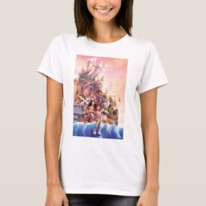 Kingdom Hearts II | Hollow Bastion Key Art T-Shirt