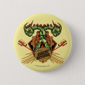 """""""Into the Great Beyond"""" Barf & Belch Tribal Icon Button"""