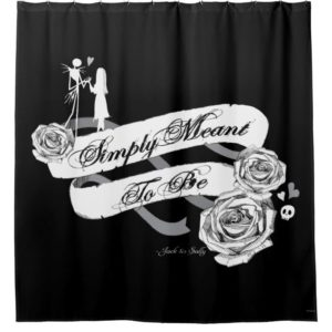 Jack and Sally - Simply Meant To Be Shower Curtain