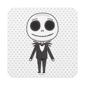 Jack Skellington Emoji Coaster