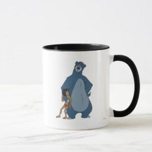 Jungle Book Baloo and Mowgli standing Disney Mug