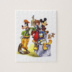Kingdom Hearts: coded   Group Key Art Jigsaw Puzzle