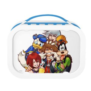 Kingdom Hearts | Main Cast Illustration Lunch Box