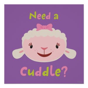 Lambie - Need a Cuddle Poster