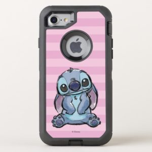 Lilo & Stich   Stitch Sketch OtterBox iPhone Case