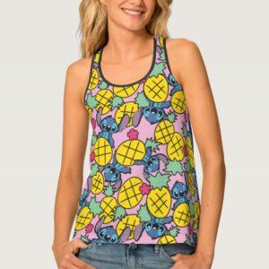 Lilo & Stitch | Pineapple Pattern Tank Top