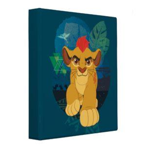 Lion Guard | Kion Safari Graphic 3 Ring Binder