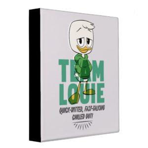 Louie Duck | Team Louie 3 Ring Binder