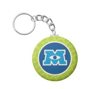 M Circle Logo Keychain