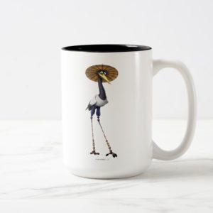 Master Crane Two-Tone Coffee Mug