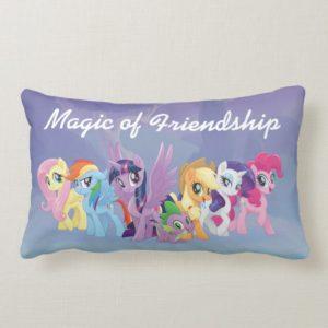 My Little Pony | Mane Six in Equestria Lumbar Pillow