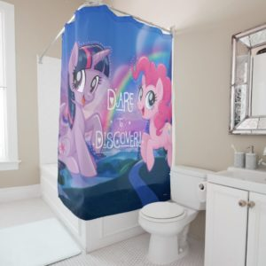 My Little Pony | Twilight and Pinkie - Discover Shower Curtain