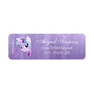 My Little Pony   Twilight Sparkle Watercolor Label