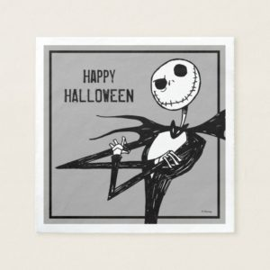Nightmare Before Christmas Halloween Party Napkin
