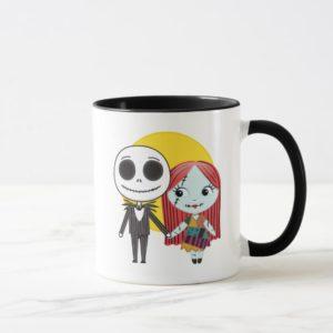 Nightmare Before Christmas | Jack & Sally Emoji Mug