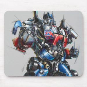 Optimus Prime Sketch 2 Mouse Pad