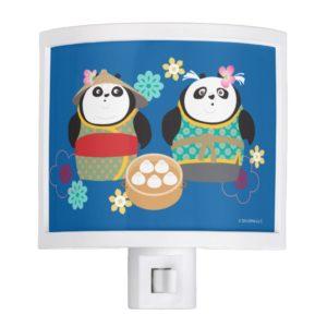 Pandas with Dumplings Night Light