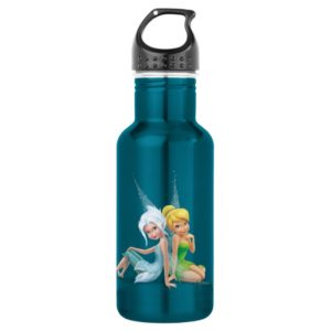 Periwinkle & Tinker Bell Sitting Stainless Steel Water Bottle