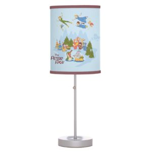 Peter Pan Flying over Neverland Desk Lamp