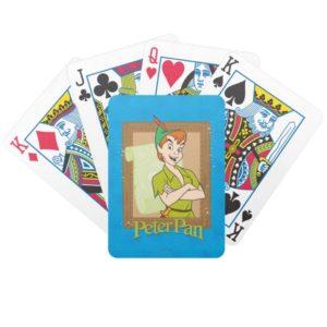 Peter Pan - Frame Bicycle Playing Cards