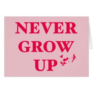 Peter Pan | Never Grow Up