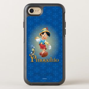 Pinocchio with Jiminy Cricket OtterBox iPhone Case