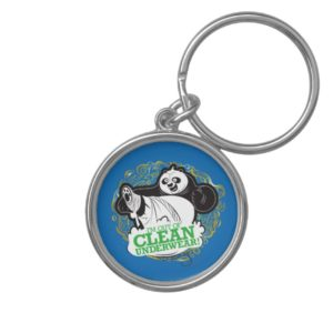Po Ping - I'm Clean out of Underwear Keychain