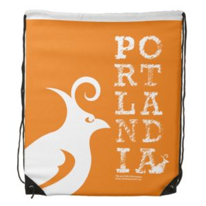 Put a Bird On It! Drawstring Backpack