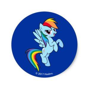 Rainbow Dash | Awesomest! Classic Round Sticker