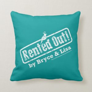 Rented Out! Throw Pillow
