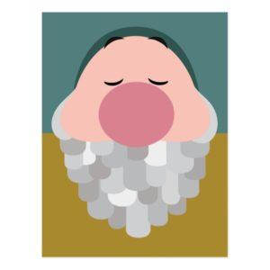 Seven Dwarfs - Sleepy Character Body Postcard