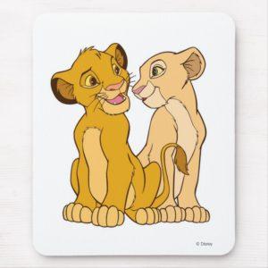 Simba and Nala Disney Mouse Pad