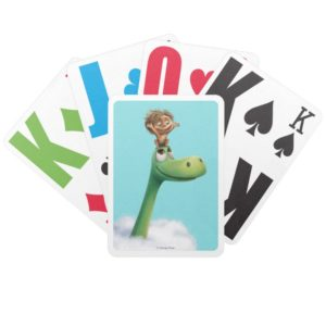 Spot And Arlo Head In Clouds Bicycle Playing Cards