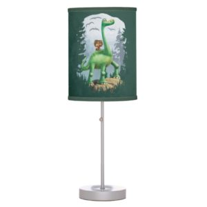Spot And Arlo In Forest Table Lamp