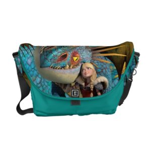 Stormfly And Astrid Courier Bag