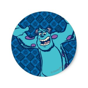 Sulley 4 classic round sticker