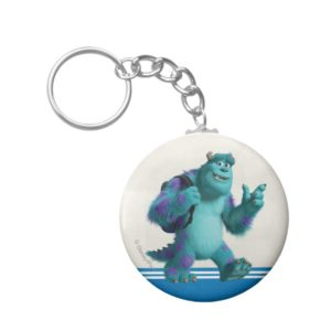 Sulley with Backpack Keychain