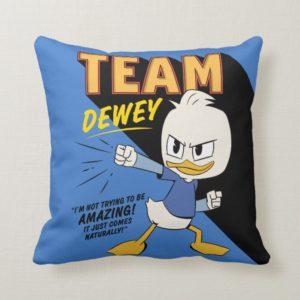 Team Dewey Throw Pillow