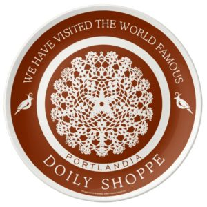 The Doily Shoppe Dinner Plate