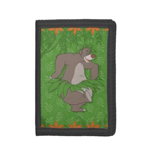 The Jungle Book Baloo with Grass Skirt Tri-fold Wallet