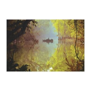 The Jungle Book   Laid Back Poster Canvas Print